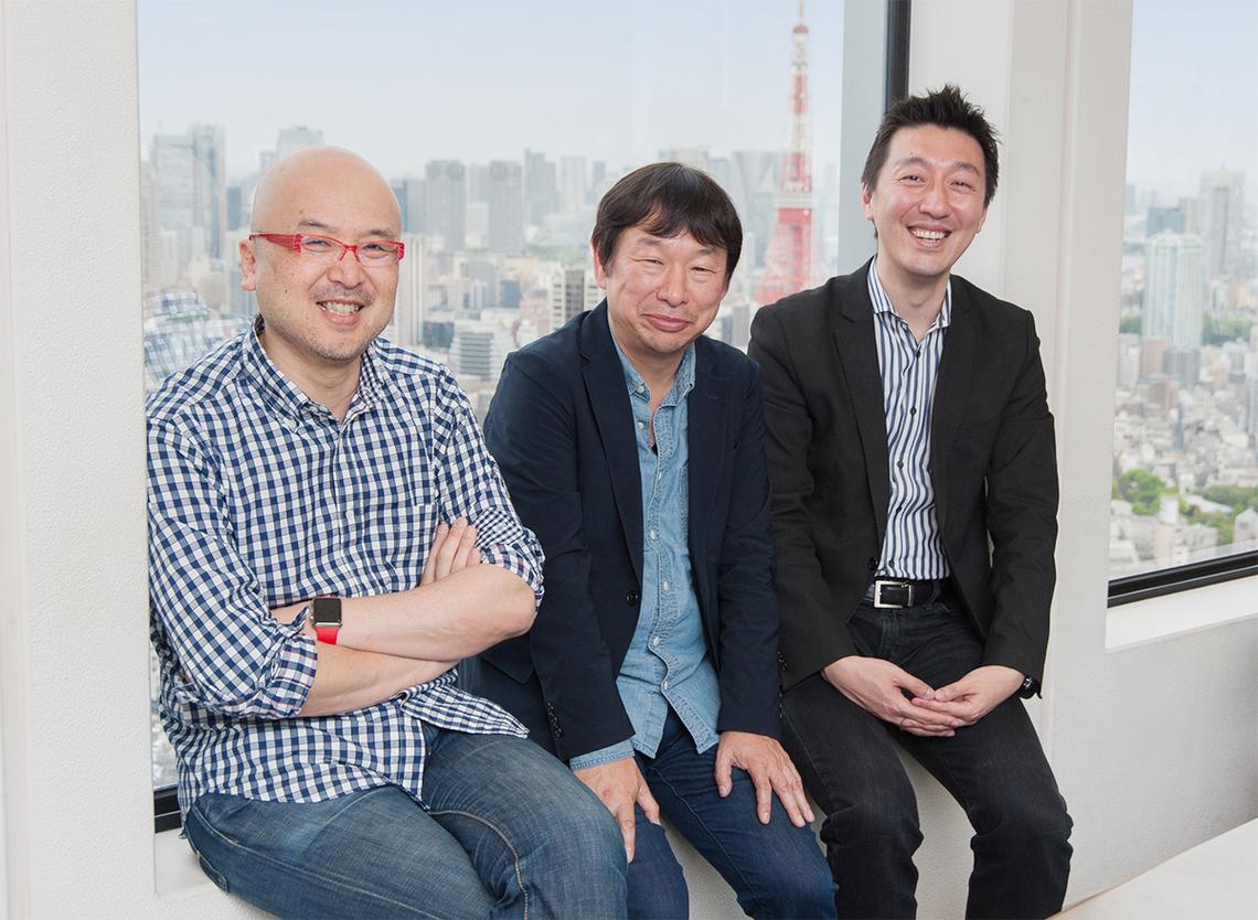 (左から)佐藤尚之氏、松尾健司氏、徳力基彦氏