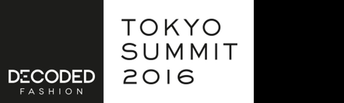 「Decoded Fashion Tokyo Summit 2016」のロゴマーク