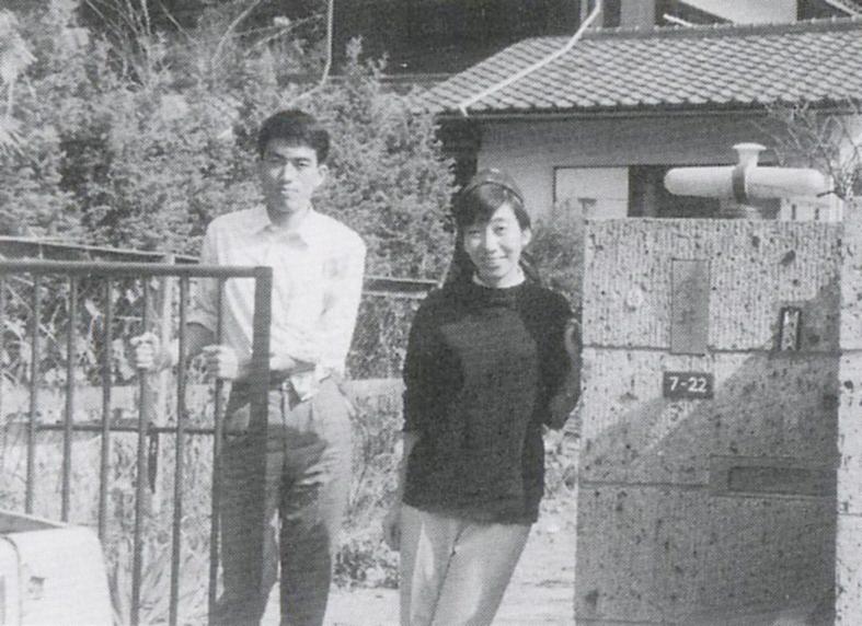 1966年頃、下宿先で