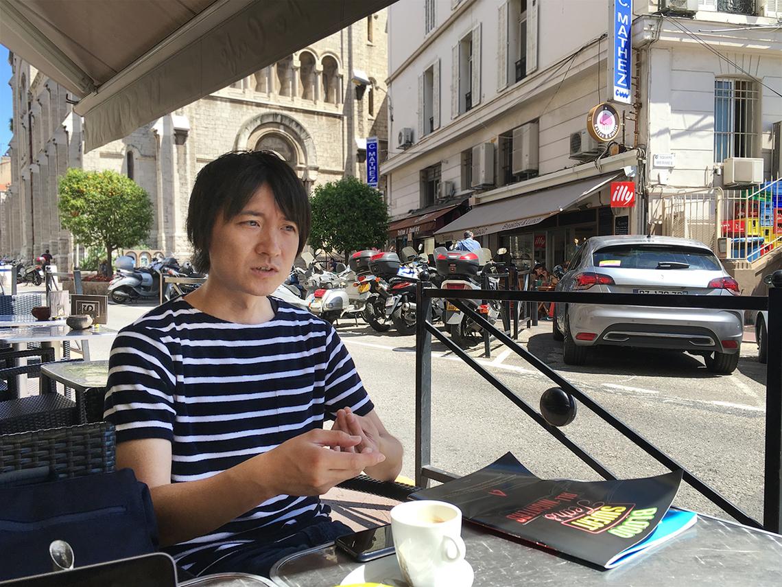PR部門審査員の橋田和明さん