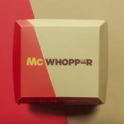 """二社のバーガーが合体、""""McWhopper"""""""
