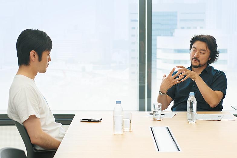 石川善樹氏(左)と、比留間雅人氏