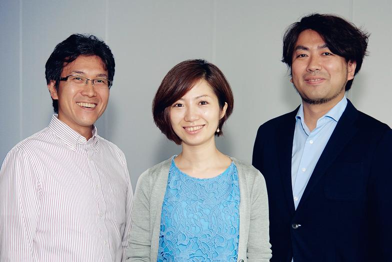 左から、高橋氏、日比谷氏、文分氏