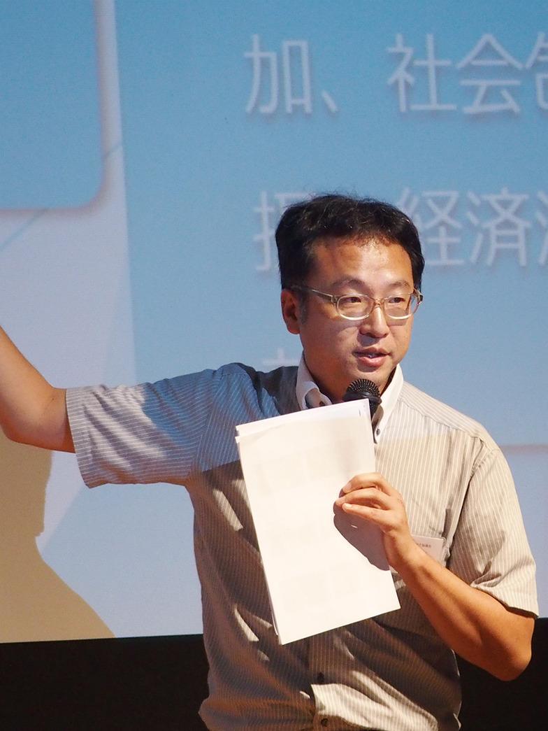 大澤氏は検証チームリーダーとして事務局スタッフの対応などを報告