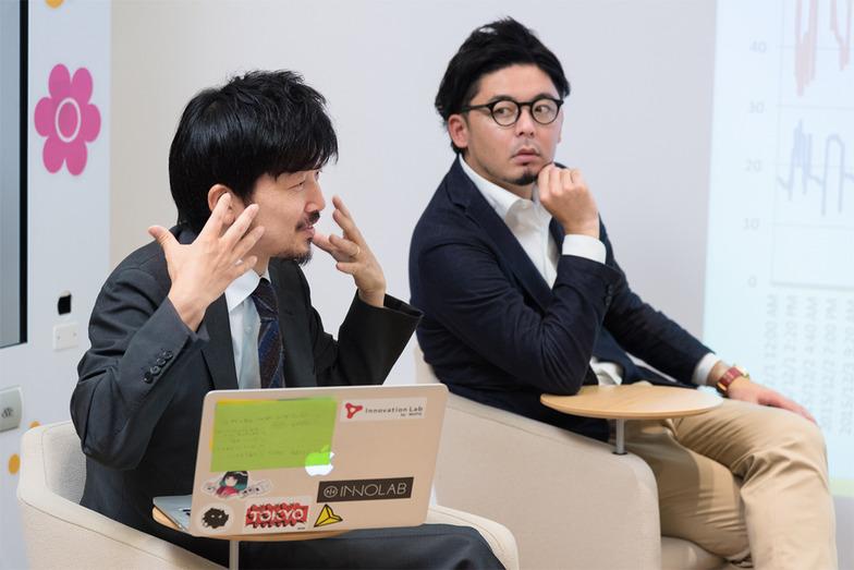 イノラボの鈴木淳一さんと阿部元貴さん