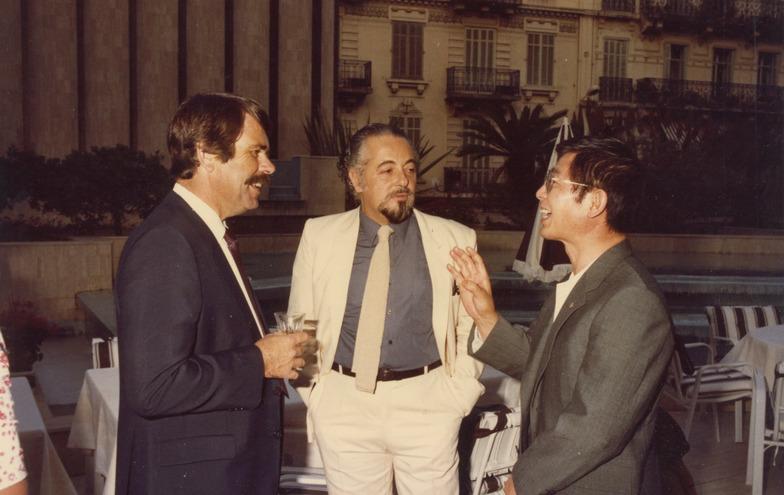 1981年カンヌ国際広告祭で