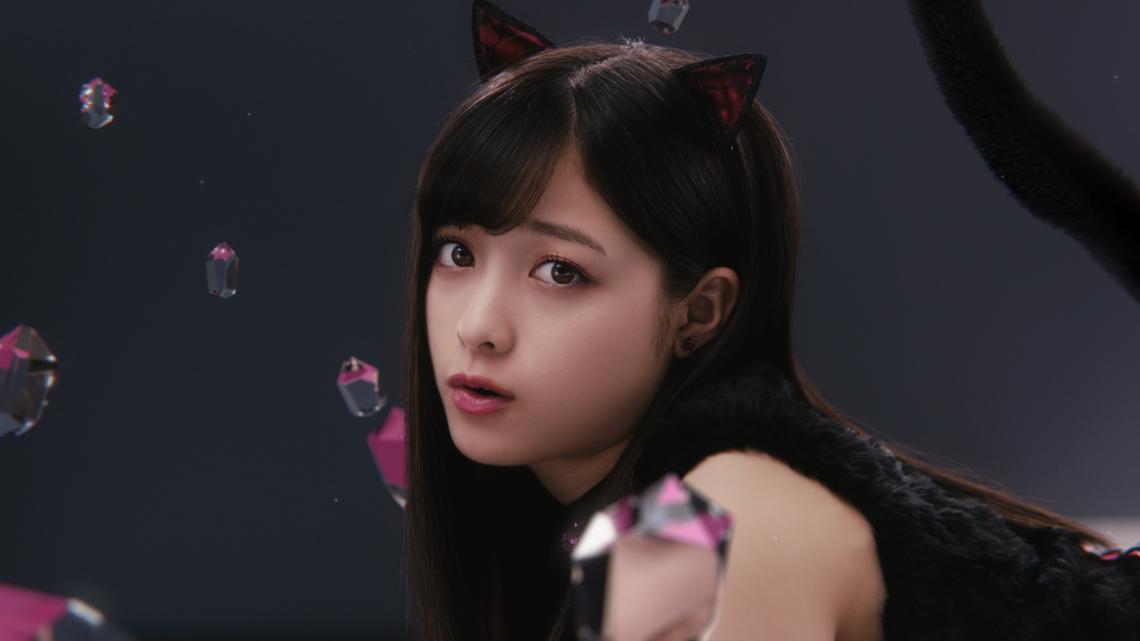 リップベビークレヨン リップ&アイ「黒猫カンナ」編