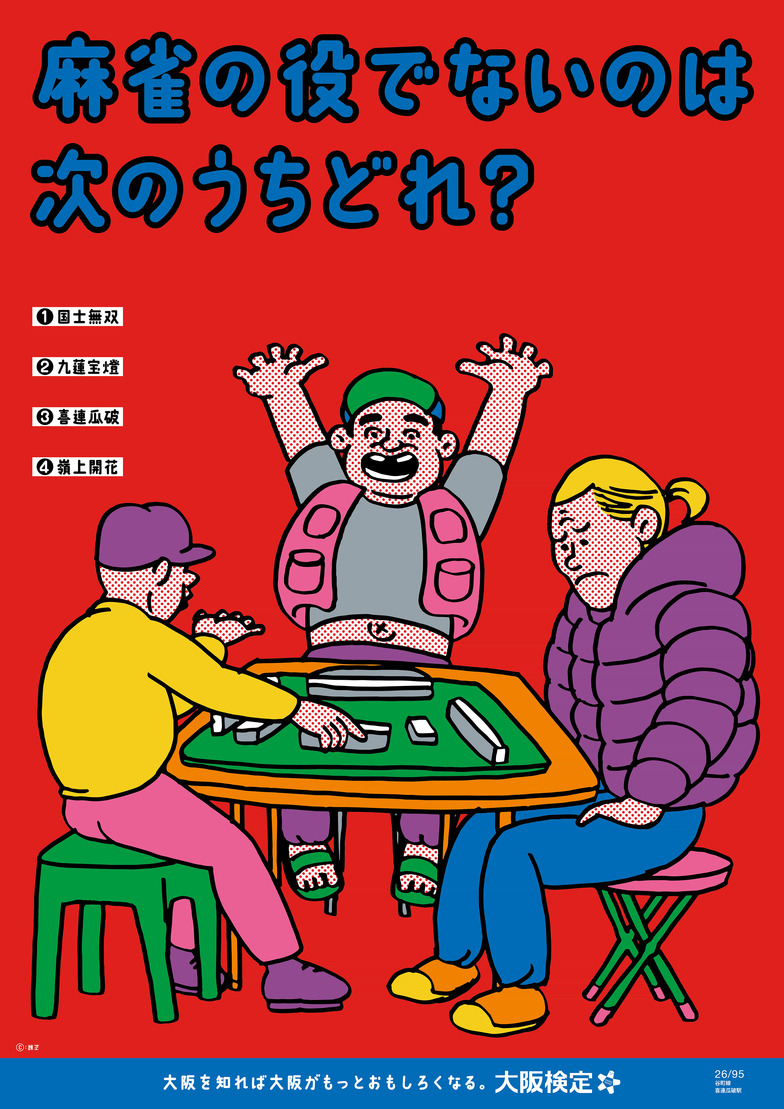 大阪検定ポスター