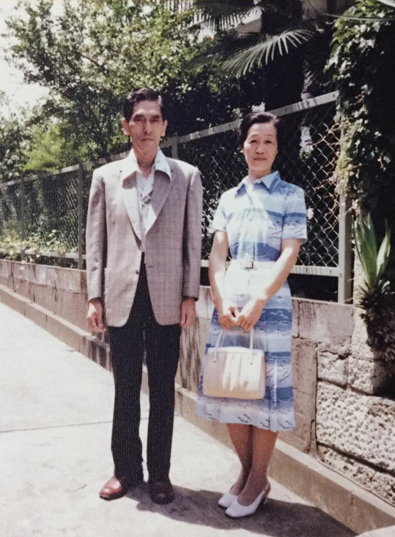 昭和52年ごろ、しづ江夫人と