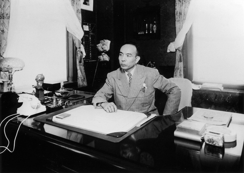 昭和22年、社長就任の頃の吉田秀雄