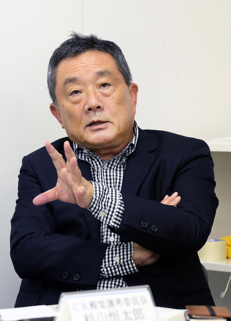 小田桐昭選考委員長