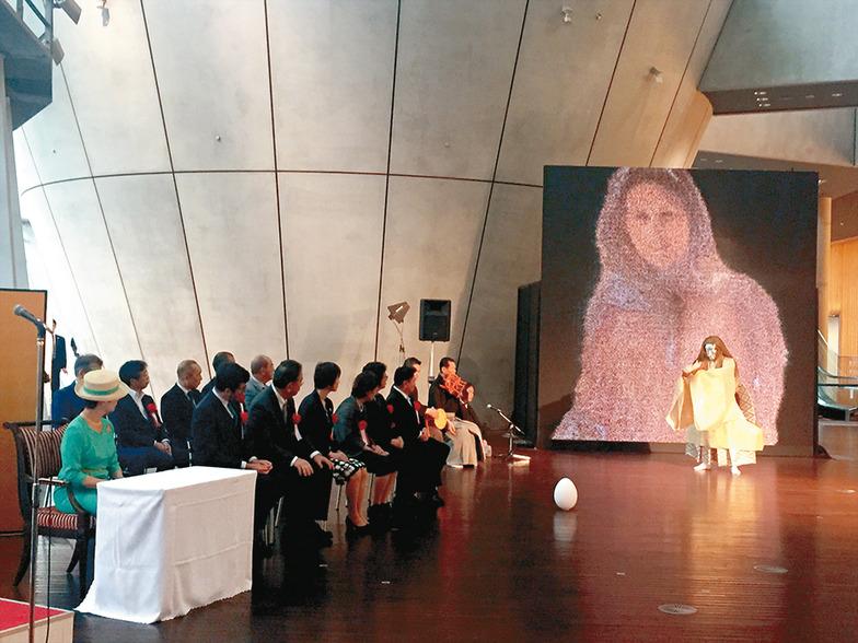高円宮妃久子さまも鑑賞された開会式