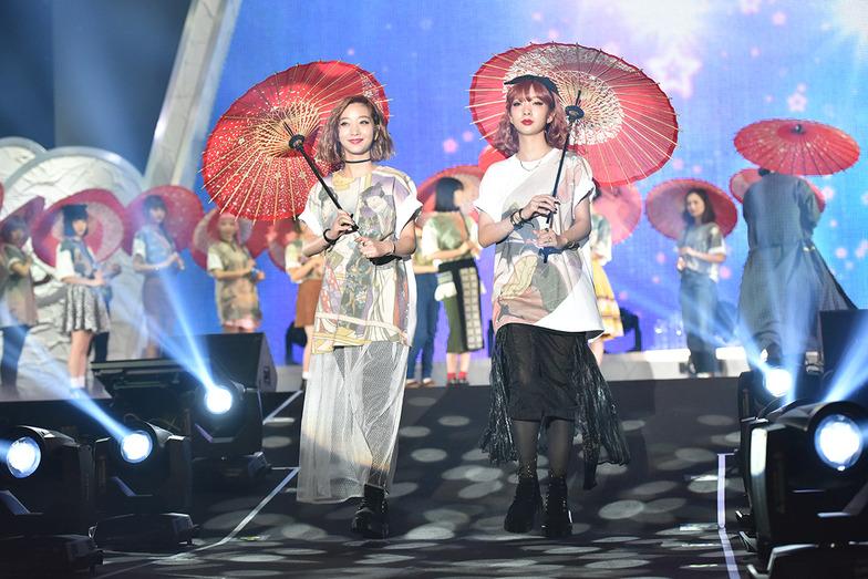 第2回「MOSHI MOSHI NIPPON FESTIVAL」(2015年11月)のファッションショーから。今年は11月24~27日、渋谷区の東京体育館で開催される。