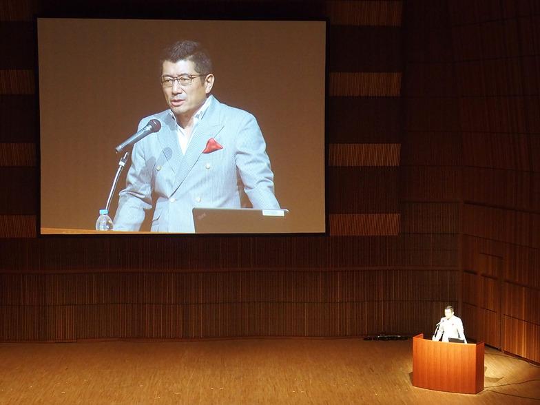 奥山氏による記念講演
