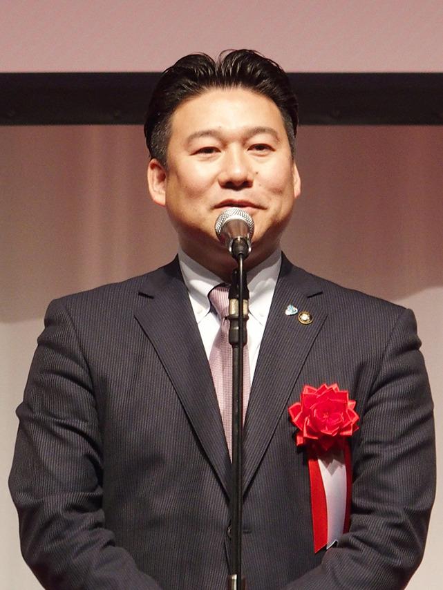 別府市長・長野氏のあいさつ