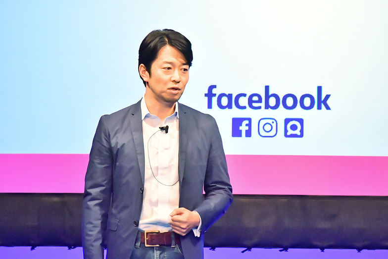 FFacebook Japan執行役員でHead of Client Solutions Managerの田野崎亮太氏