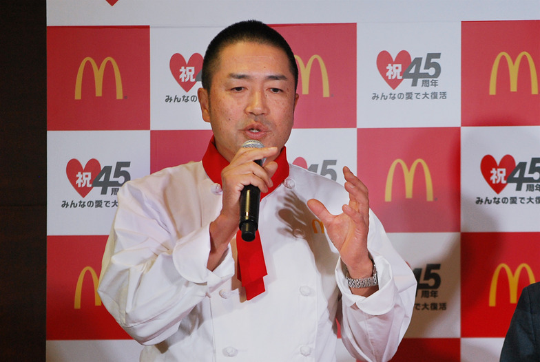 日本マクドナルドメニューマネージメント部の若菜重昭上席部長