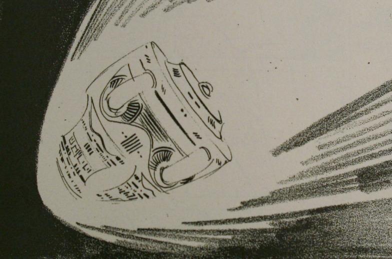 初期のイメージ「落下」