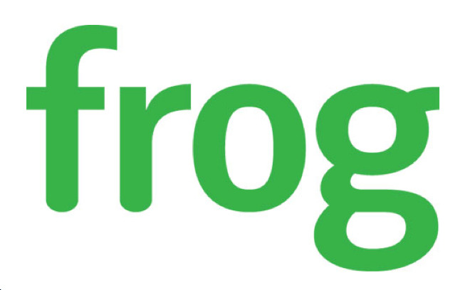 フロッグデザイン社のロゴマーク