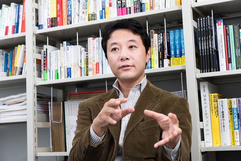 入山章栄氏(早稲田大学ビジネススクール 准教授)