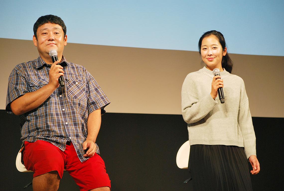 石本さん、柴田さん