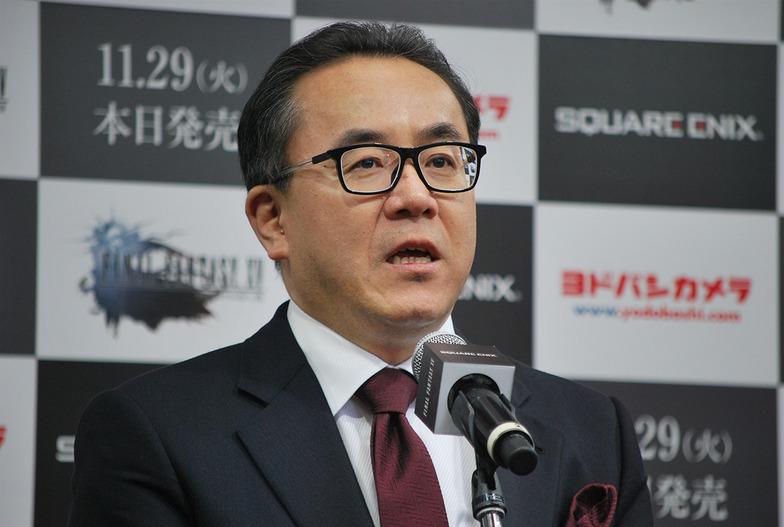 スクウェア・エニックスの松田代表