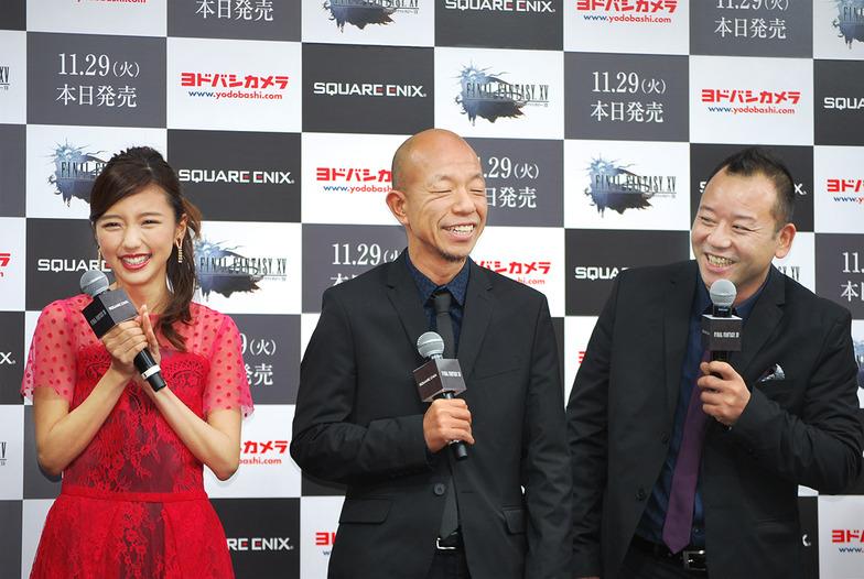 真野恵里菜さん、バイきんぐの西村瑞樹さん、小峠英二さん