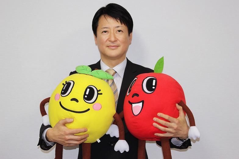 青森県りんご対策協議会事務局長 高澤至氏