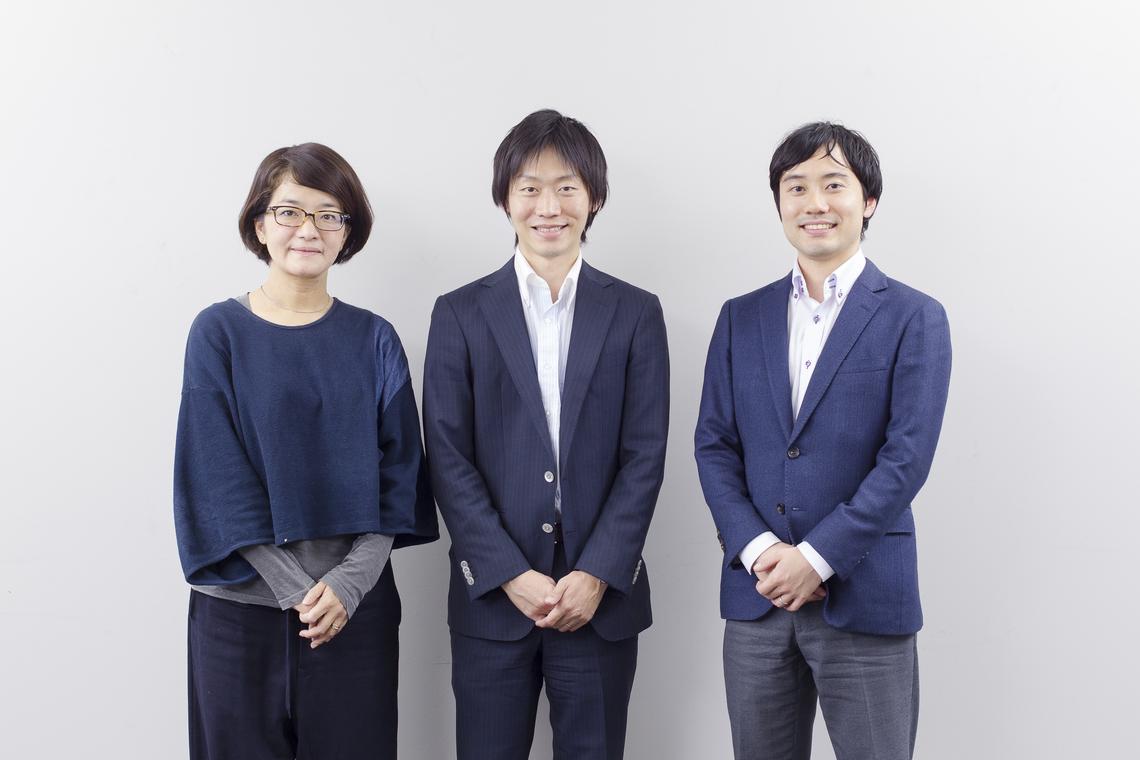 (左から)「Hanakoパパ」編集長の岸辺氏、パパラボの千田氏、服部氏