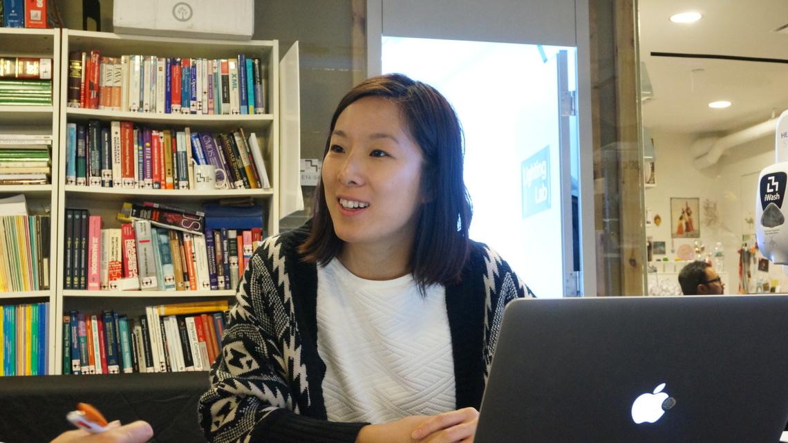 ナン・ツァオ氏(MITメディアラボ・リサーチアシスタント)