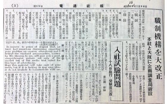 戦後日本にPRを本格導入した男  田中 寛次郎(2)