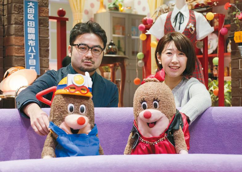 小林昌平氏(左)と、藤江千紘氏