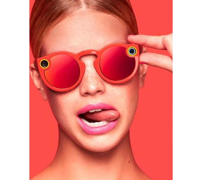 SnapchatのSpectacles