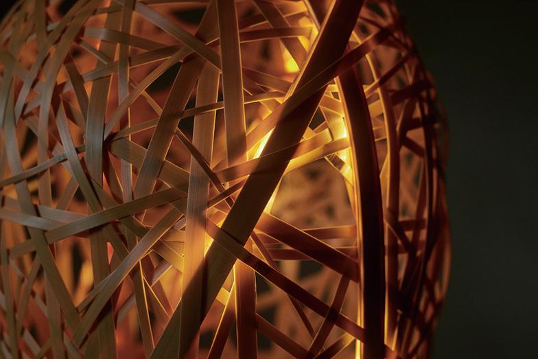 竹コロ/竹の隙間からこぼれる光をめでるLED照明