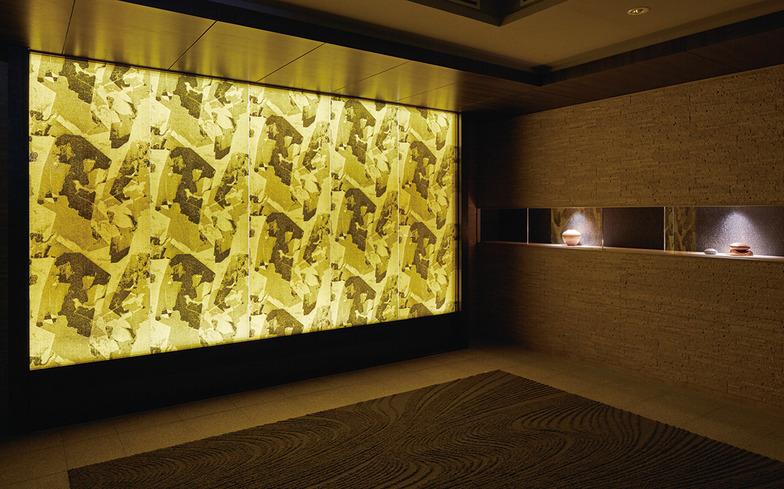 GO ONコラボによる「グランドメゾン京都御池通」のエントランス