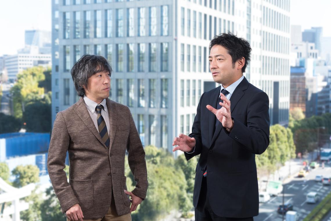左から、井口氏、加納氏