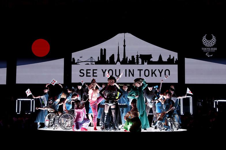 リオ2016パラリンピック競技大会閉会式 東京2020フラッグハンドオーバーセレモニー Photo by Tokyo 2020 / Shugo TAKEMI