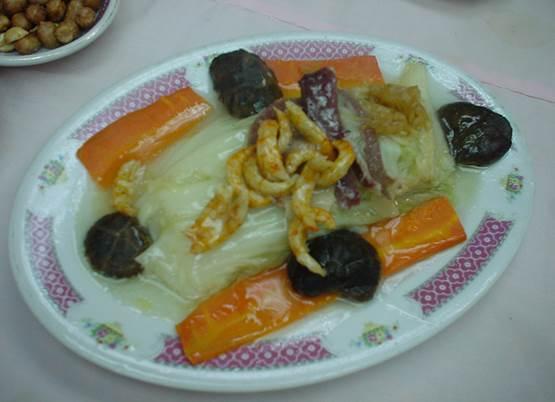 白菜蒸し物