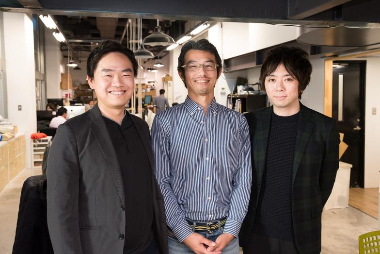 左から、能勢氏、西村氏、天野氏