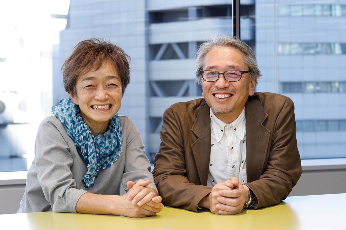 (左から)伊藤美也子さん、佐藤義浩さん