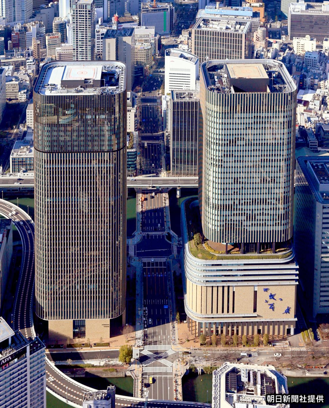 大阪・中之島に完成した超高層ツインタワー「フェスティバルシティ」