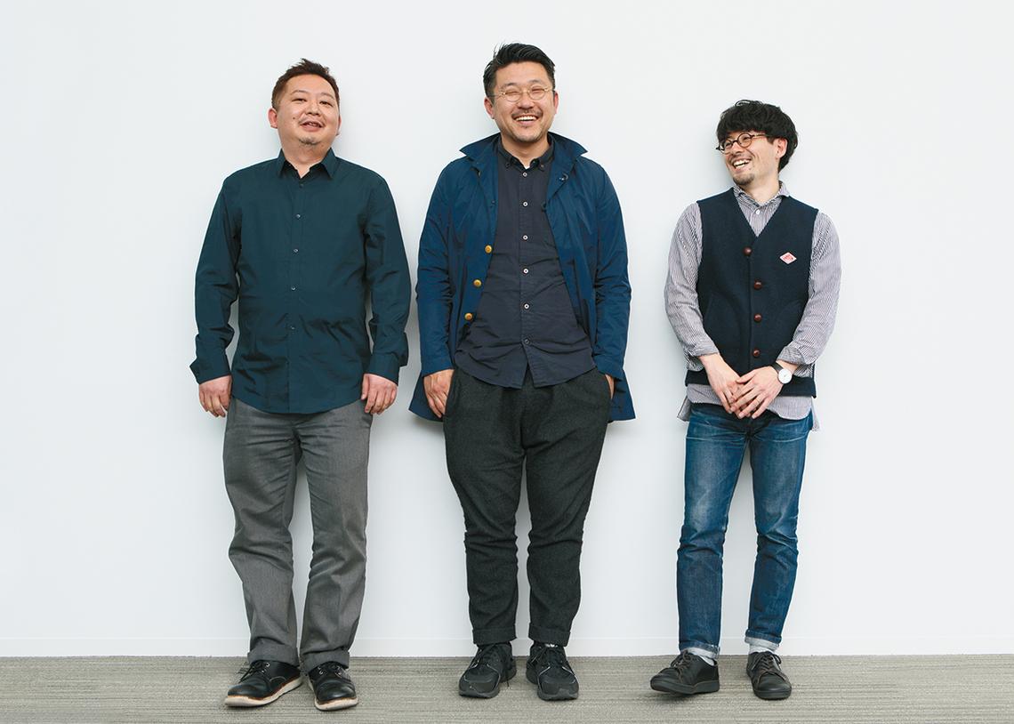 (左から)橋本哲也氏、齋藤精一氏、西牟田悠氏