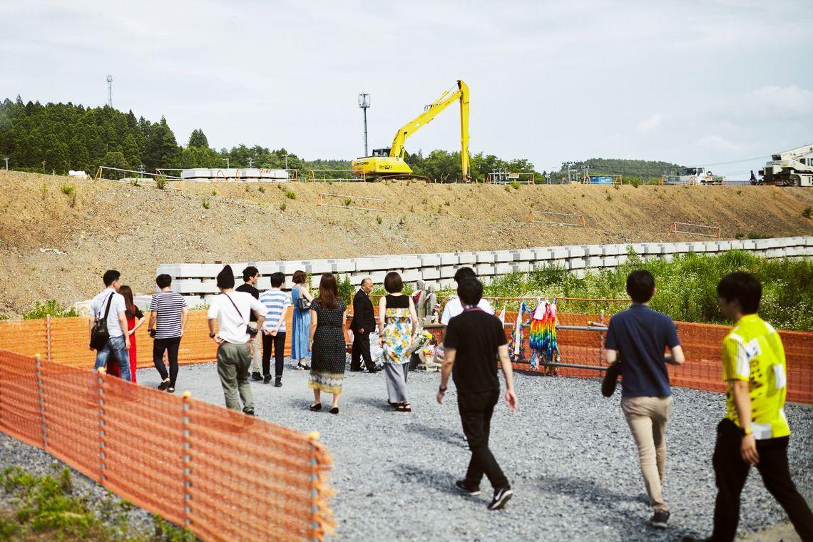 東日本大震災から6年が経過した南三陸の今を知り、その後アイデアソン形式で課題解決案を発表した