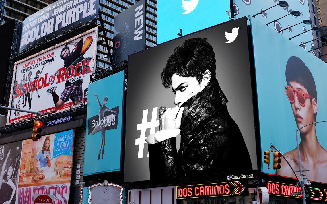 アメリカで行ったTwitterの屋外広告