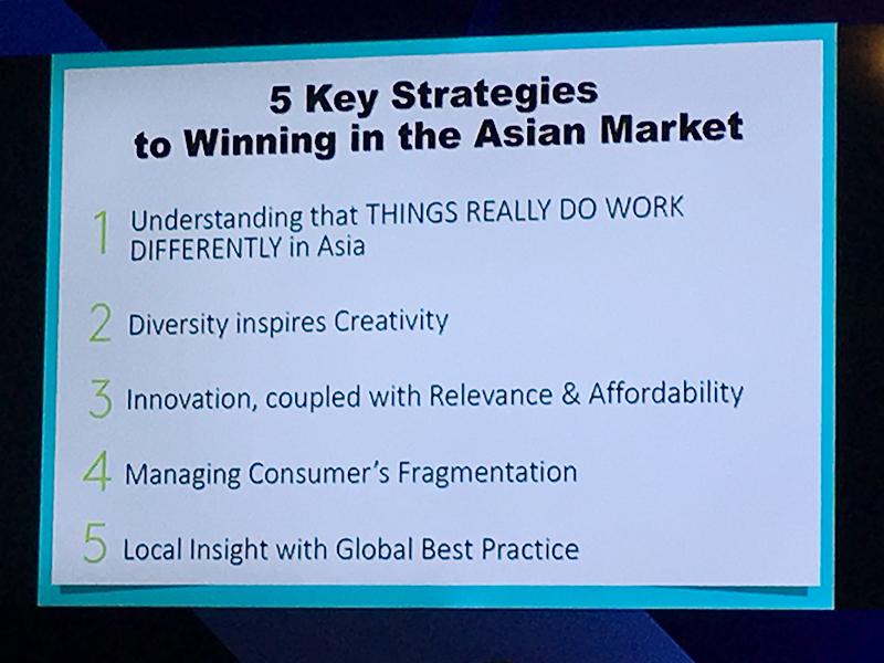 アジア市場で成功するためには、多様性を踏まえてローカルの視点で洞察することが重要だ