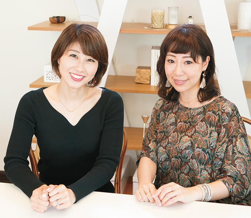 吉田ちか氏(左)と、水野和佳氏