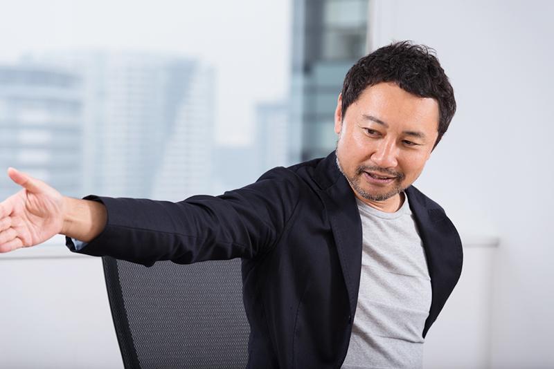 関係が遠ければ遠いほど、くっついた時に大きなパワーを発揮するんです、と本田さん
