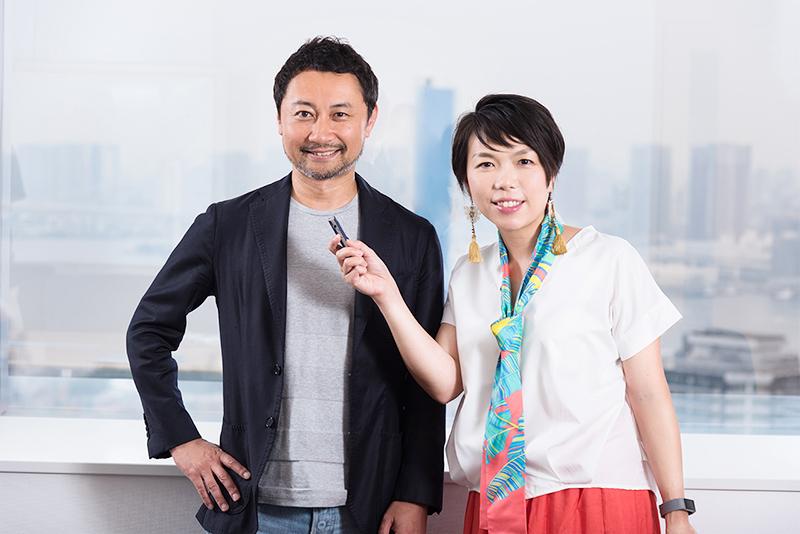カンヌライオンズ2017のPRライオン日本審査員の本田哲也さんと、切り込み隊長イザワ