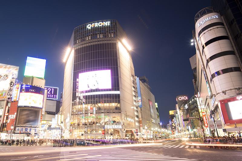 デジタルサイネージのイメージ画像(渋谷)