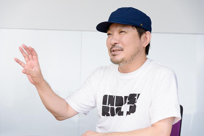 サウンドディレクターのDJ MOODMANこと木村年秀さん